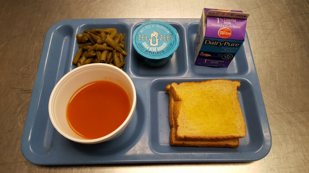 Lunch Choices E D Smith Elementary School